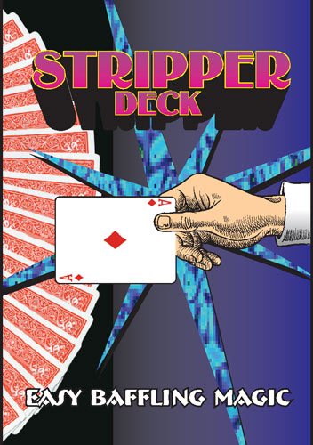 Stripper Deck Bicycle Poker Blue