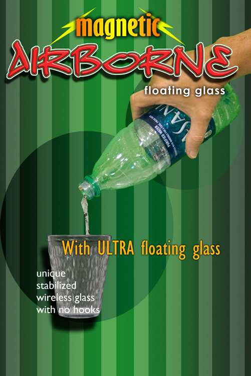 Airborne Magnetic Water Bottle with Ultra Gla