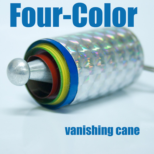 Vanishing Cane 4 Color Metal