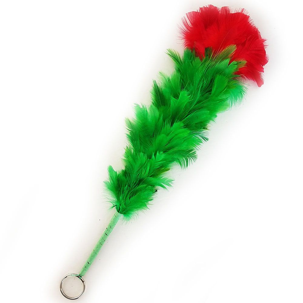 Drooping Feather Flower