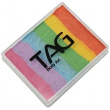 Tag Split Cake Pearl Rainbow Delight