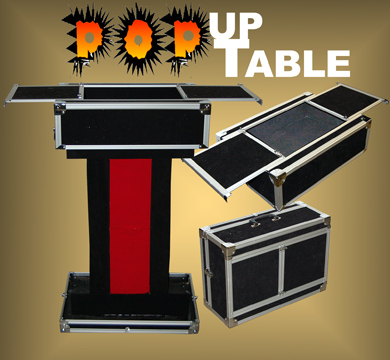Pop Up Performers TableCase