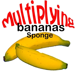 Multiplying Sponge Banana Set