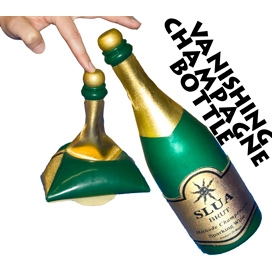 Vanishing Champagne Bottle Latex