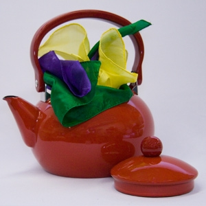 Tea Kettle Mak RED