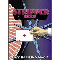 Stripper Deck Bicycle Poker Red