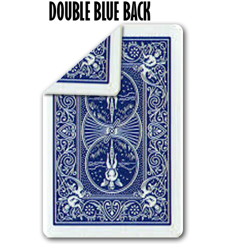 Double Back Blue Bicycle Poker