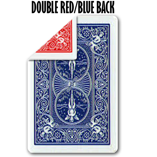 Double Back R/B Bicycle Poker