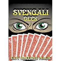 Svengali Deck Bicycle Poker Red