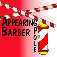 Appearing Barber Pole 8 Feet