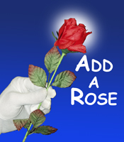 Add a Rose with Silk