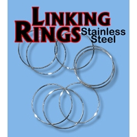 Linking Rings Stainless Steel - 10 inch