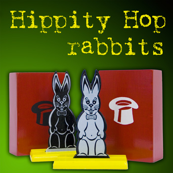 Hippity Hop Rabbits - Medium Size