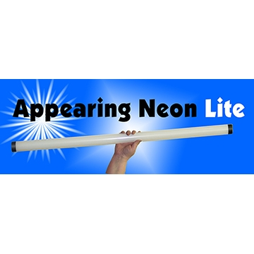 Appearing Neon Light Bulb Large