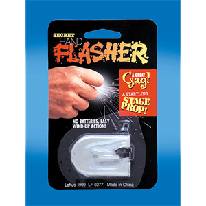 Hand Flasher Carded