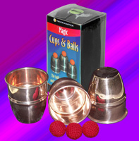 Cups and Balls Copper