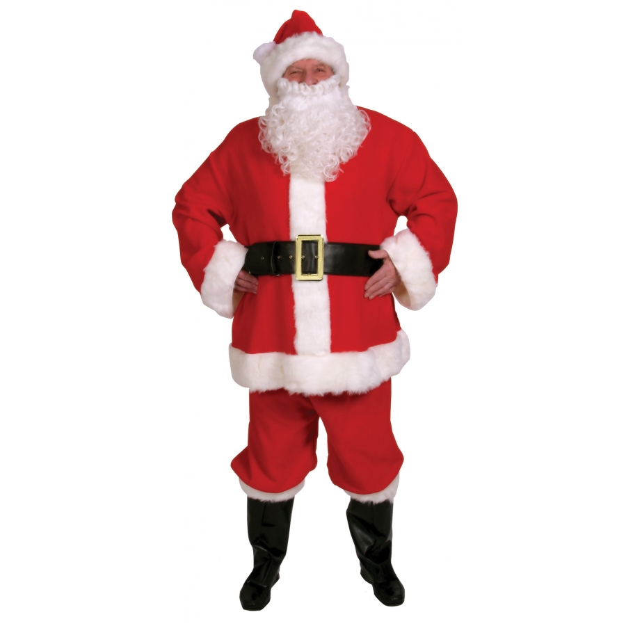 SANTA SUIT COMPLETE 10 PC