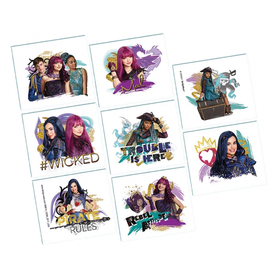 DISNEY DESCENDANTS 2 TATTOOS