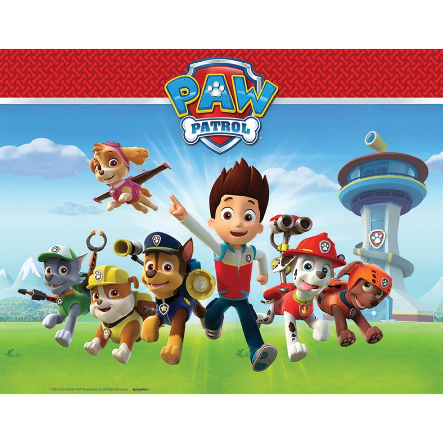 PAW PATROL 1ST TABLE COVER