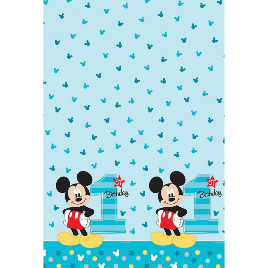 MICKEY 1ST TABLE COVER