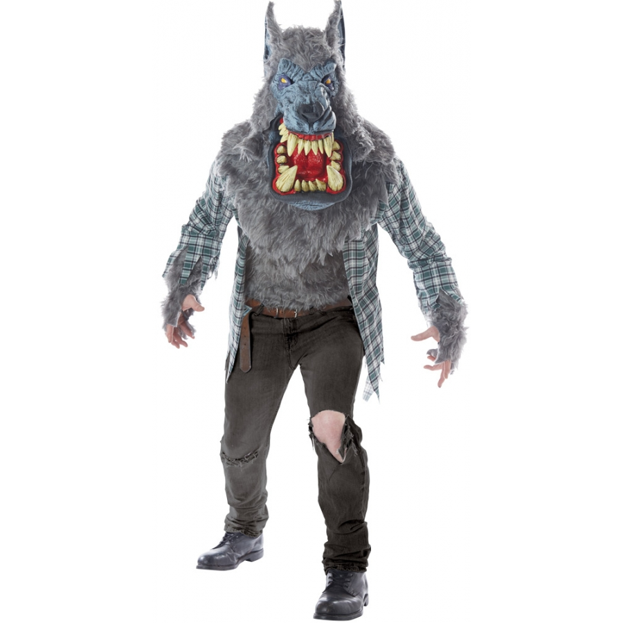 MONSTER WOLF ADULT LG XL