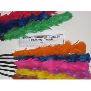 Color Changing Plumes 14""