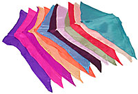 12 inch Diamond Cut Silks - 12-pack (Assorted