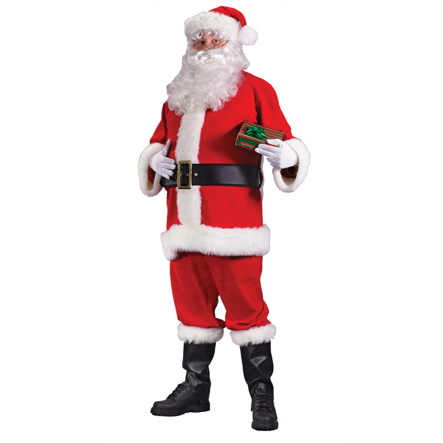 SANTA SUIT ECONOMY PLUS SZ
