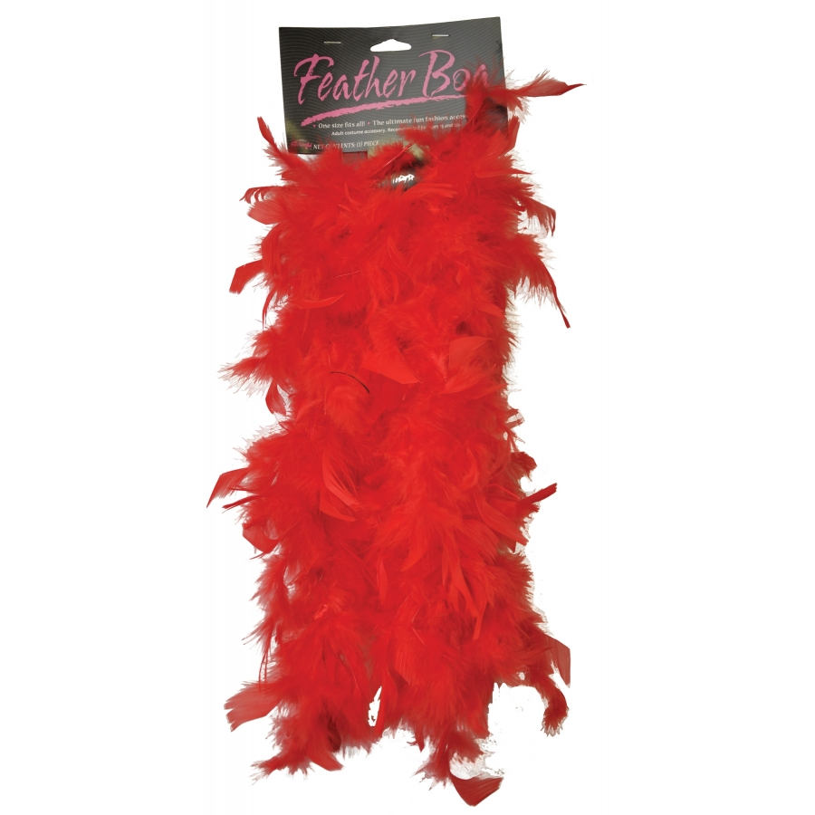 BOA 5ft FEATHER RED
