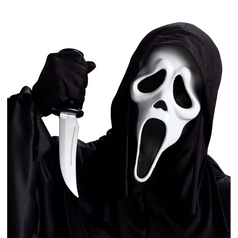 GHOST FACE MASK WKNIFE