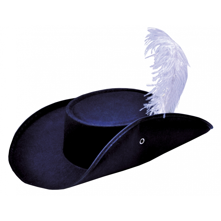 CAVALIER HAT ECONO W FEATHER