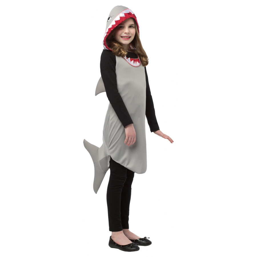 SHARK DRESS TWEEN 10 12