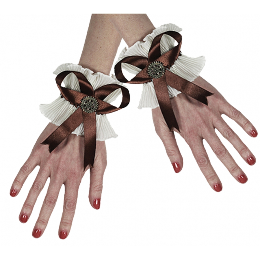GLOVES WRISTLET STEAMPUNK