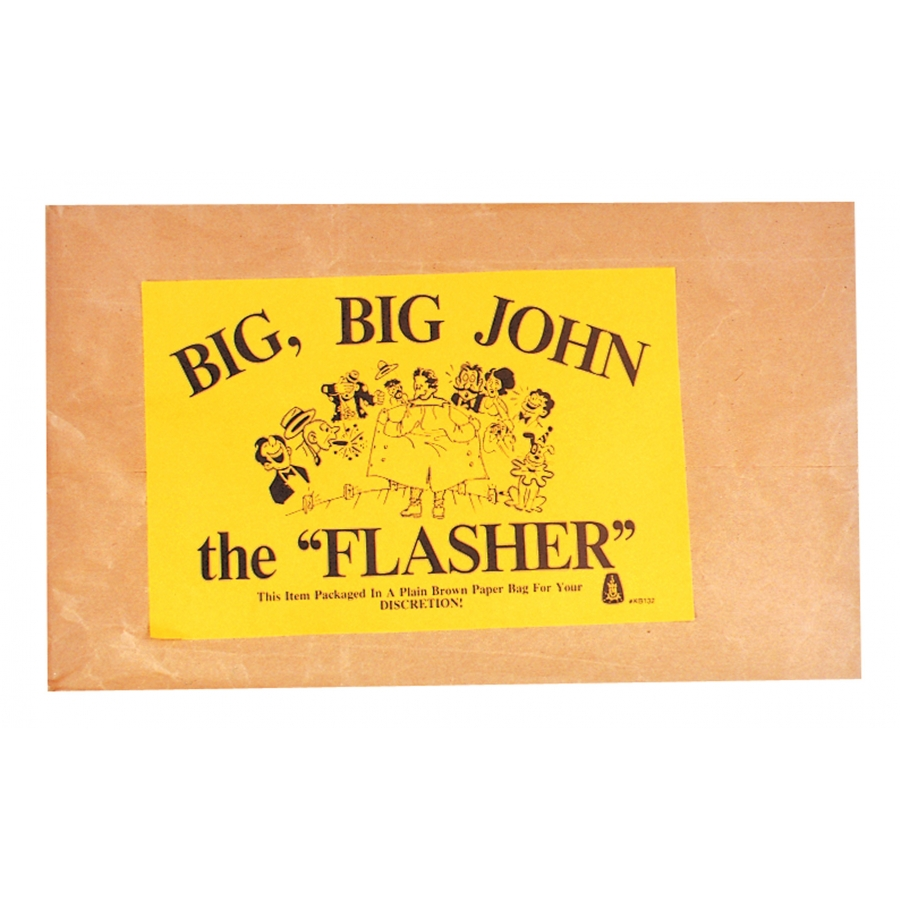 Flasher Costume Accessory - Brief with Giant Male Part