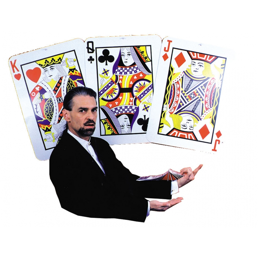 Giant Playing Card - 18 inch x 25 inch
