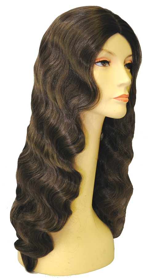 218 WIG 30in LT CHEST BROWN