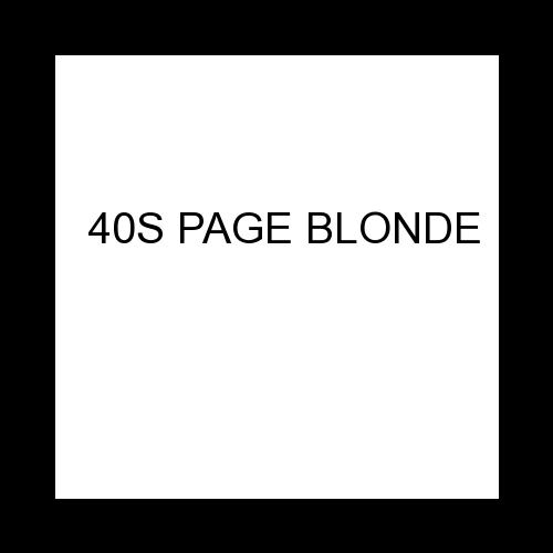 40S PAGE BLONDE