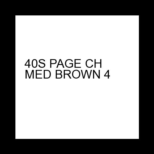 40S PAGE MED BROWN 4