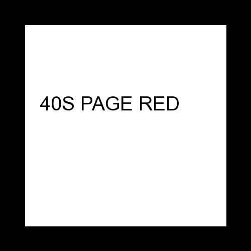 40S PAGE RED