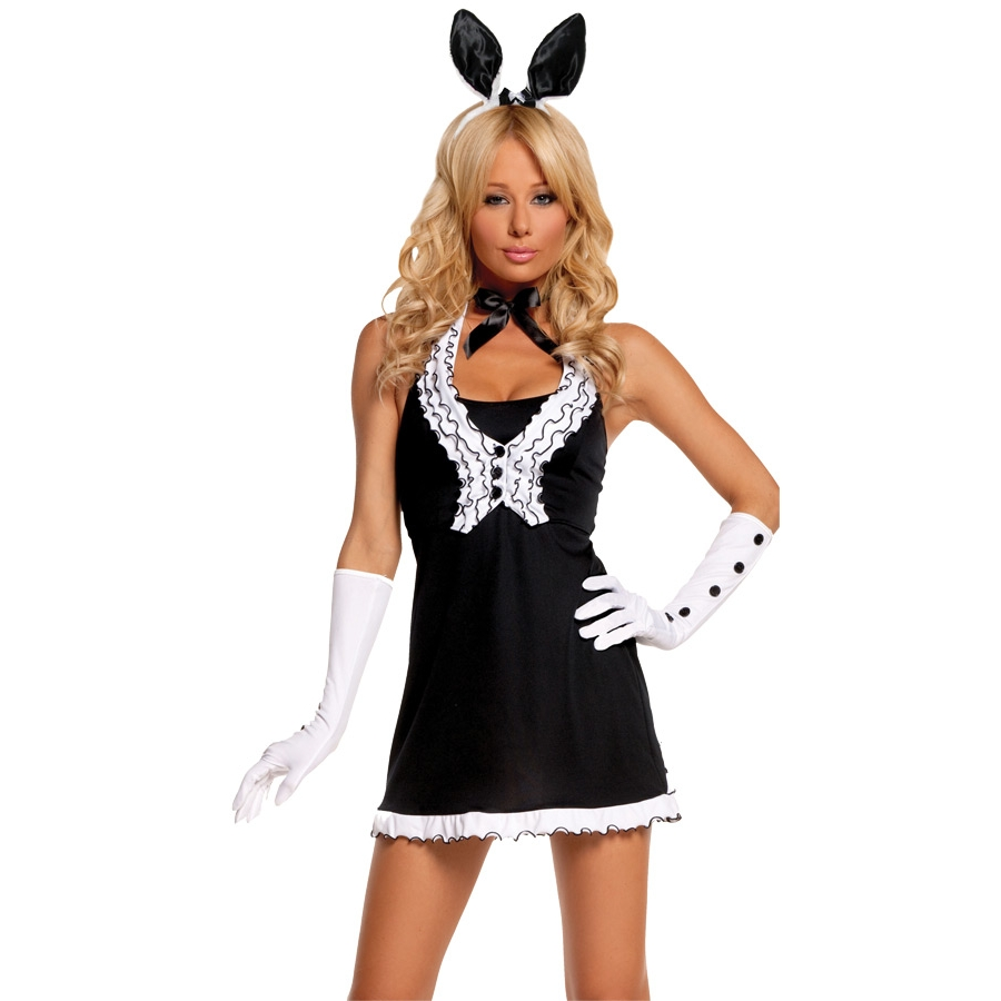 BLACK TIE BUNNY MEDIUM