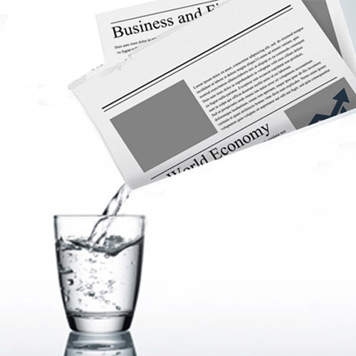 Liquid from Newspaper Complete