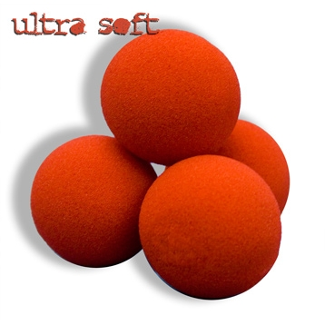"Sponge Balls 1.5"" Ultra SS Red Pack of 4"