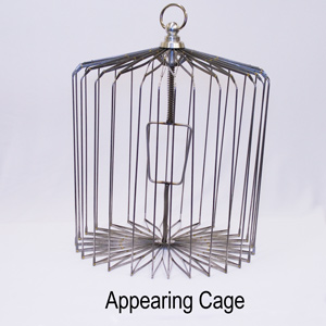 Appearing Bird Cage 14 inch Steel