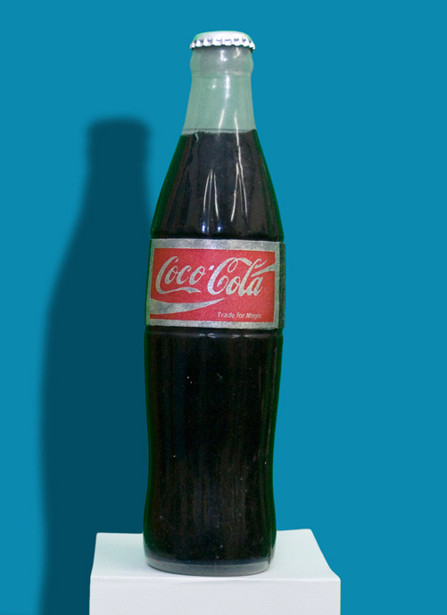 Vanishing Coke Bottle