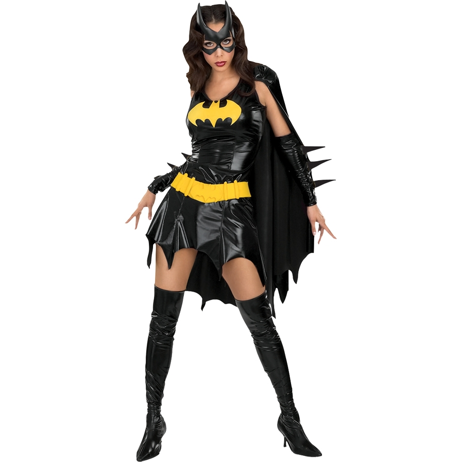 BATGIRL ADULT COSTUME X SMALL