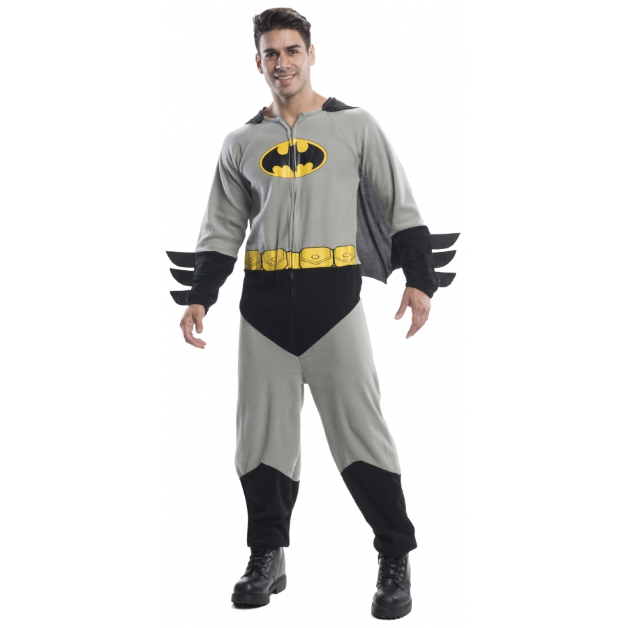 BATMAN ONESIE ADULT STD