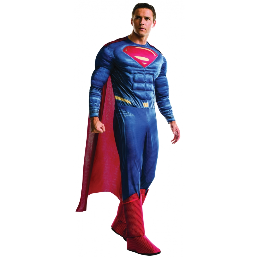 SUPERMAN DLX ADULT COSTUME