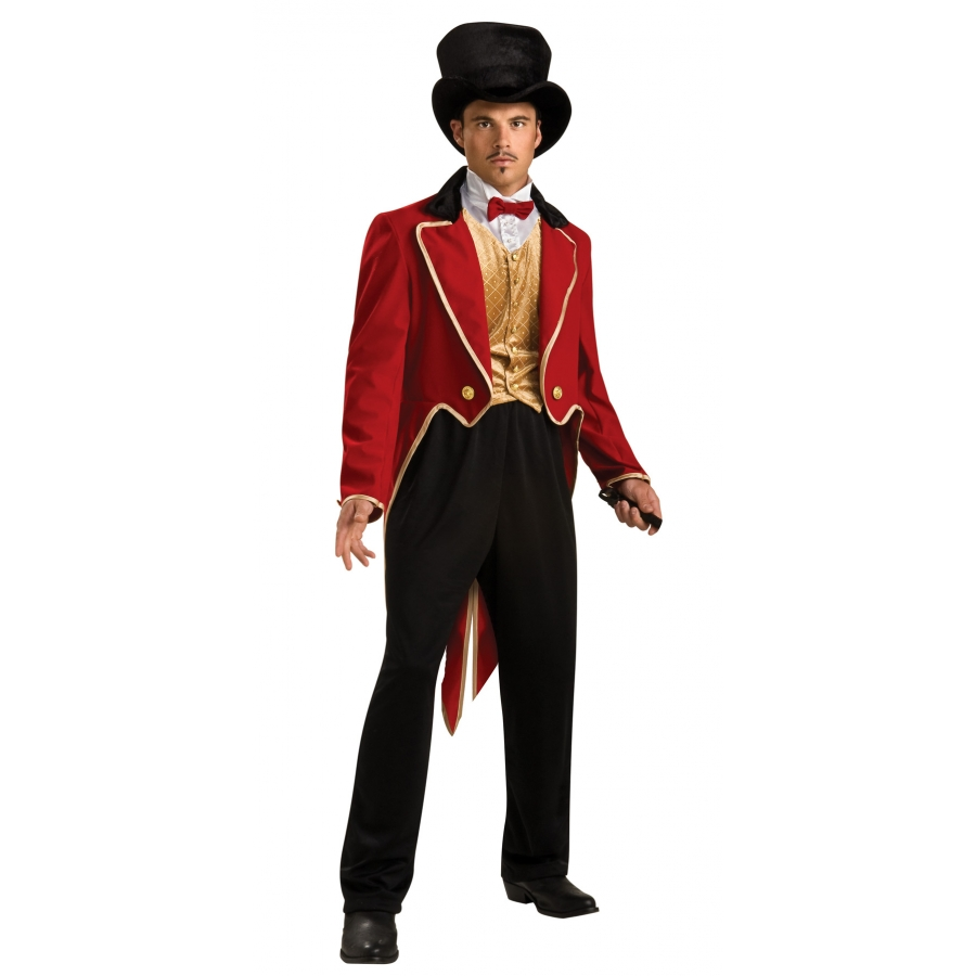 RING MASTER ADULT COSTUME STD