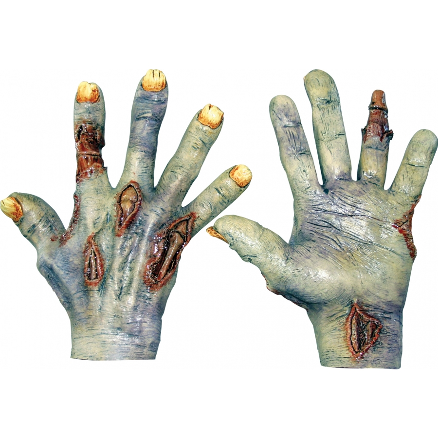 ZOMBIE UNDEAD LATEX HANDS