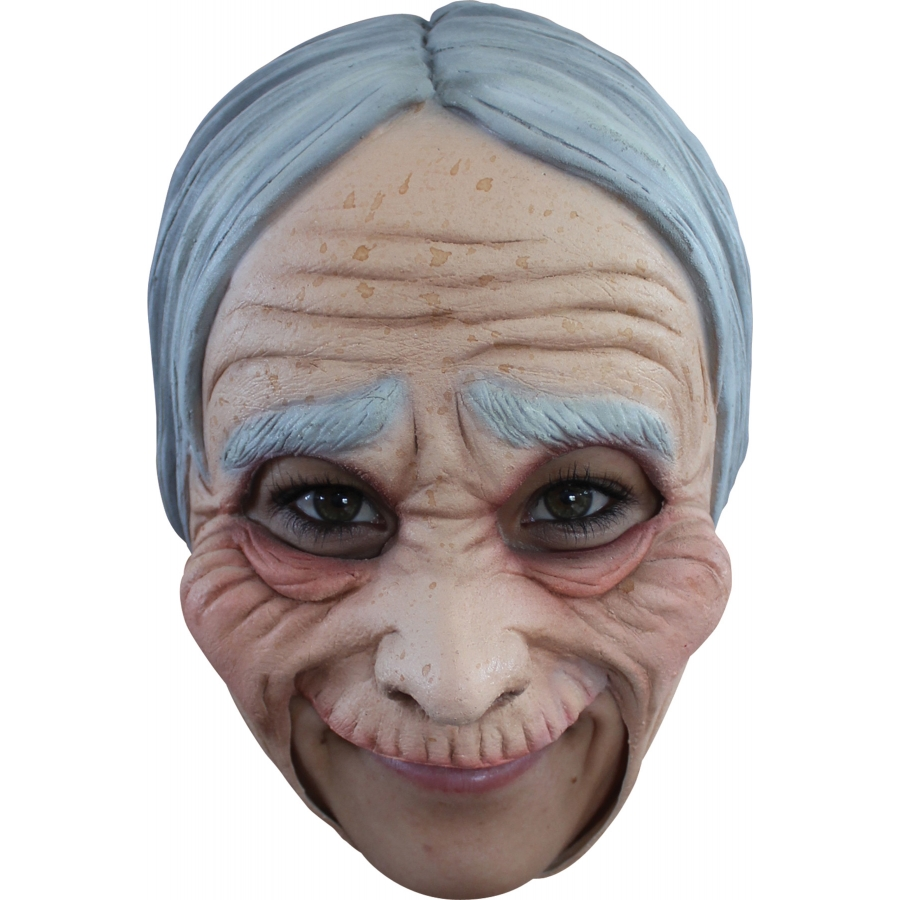 OLD LADY CHINLESS ADULT MASK